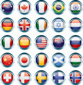 Country Flag Icons Royalty Free Stock Images