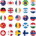 Country Flag Icons Royalty Free Stock Image