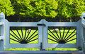 Country gate Royalty Free Stock Photo