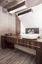 Country home - bathroom Royalty Free Stock Photo