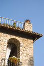 Country house detail in Italy Royalty Free Stock Photography