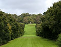 Country House Parkland Royalty Free Stock Photo