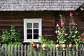 Country house window Royalty Free Stock Photo