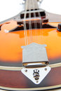 Country mandolin color photo of a in style Royalty Free Stock Photos
