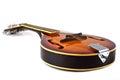Country mandoline on white background Royalty Free Stock Photo