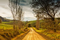 Country road in Australia Royalty Free Stock Photo