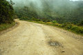 Country Road in Colombia Stock Photos