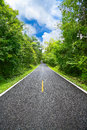 Country road between district to the city with motion blur, Journey way of traveler to the nature, Road in the mountain