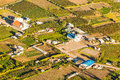 Country Side Aerial Shot Ecuador Royalty Free Stock Photo