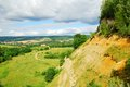 Country view from a hillside Royalty Free Stock Photo