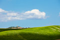 Countryside landscape in Tuscany region Royalty Free Stock Image