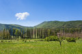 Countryside - Orpiano - Macerata - Marche - Italy Royalty Free Stock Photo