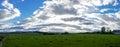 Countryside Panorama Royalty Free Stock Photo