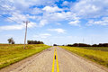 Countryside Road Royalty Free Stock Photos