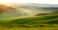 Countryside, San Quirico d´Orcia, Tuscany, Royalty Free Stock Photo