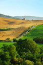 Countryside of Tuscany Royalty Free Stock Images