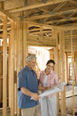 Couple Building Home Royalty Free Stock Photo