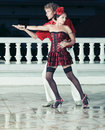 Couple dancing Royalty Free Stock Images