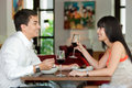 Couple Dining Together Royalty Free Stock Photo