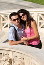 Couple do sightseeing in Athens Stock Photography