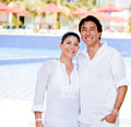 Couple enjoying their holidays Royalty Free Stock Photo