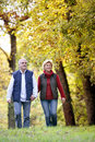 Couple enjoying walk Stock Photos