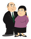 Couple fat Stock Images