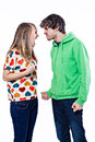 Couple fighting Royalty Free Stock Images