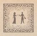 Couple In Louve