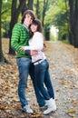 Couple love young Στοκ φωτογραφία με δικαίωμα ελεύθερης χρήσης