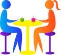 Couple meeting