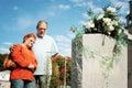 Couple praying Stock Image