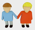 Couple in romantic relationship holding hands Royalty Free Stock Photos