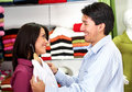 Couple shopping Royalty Free Stock Image