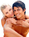 Couple spending quality time during their vacation Stock Photography