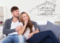 Couple Thinking Of Getting Their Own House Royalty Free Stock Photo