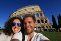Couple of tourist Royalty Free Stock Photo