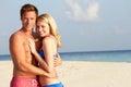 Couple On Tropical Beach Holiday