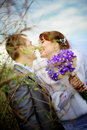 Couple wedding 免版税图库摄影