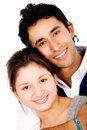 Couple of young people Royalty Free Stock Photo