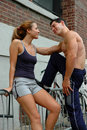 Couples 3 de sports Images stock