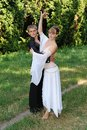Couples de danse Photos libres de droits