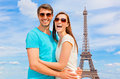 Couples de Paris Image stock