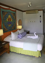 Couples Negril Resort Guest Room Jamaica Royalty Free Stock Photo