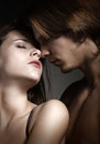 Couples sexy d'amour Image stock