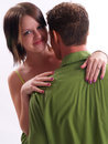 Couples verts Photos stock