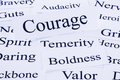 Courage Concept Royalty Free Stock Photo