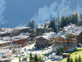 Courchevel 1850 Stock Images