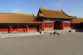 A court building in the Forbidden City Stock Photo