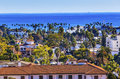 Court House Main Street Pacific Ocean Santa Barbara California Royalty Free Stock Photo